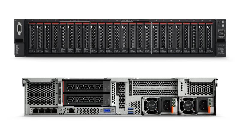 Lenovo ThinkSystem SR650 Server Front View