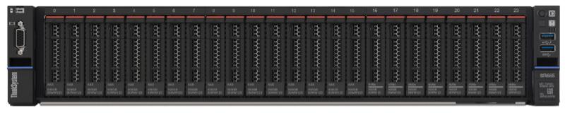 Lenovo ThinkSystem SR665 Server Front View