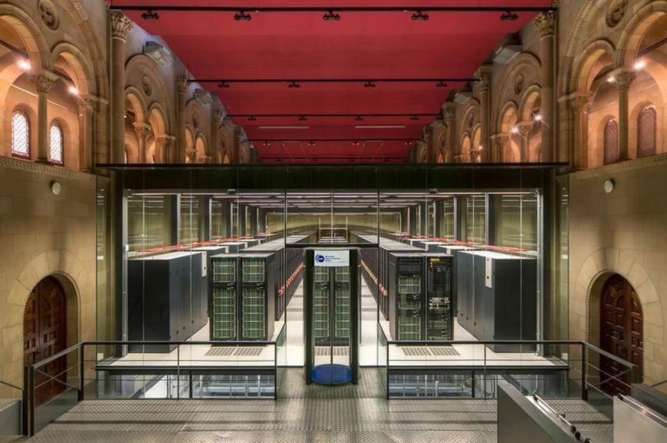 MareNostrum 4 Data Centre Barcelona Spain