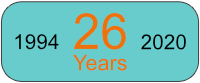 26 years operational