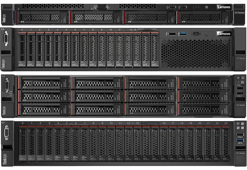 Lenovo ThinkAgile VX Certified Nodes
